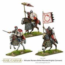 Hail Caesar Arthurian Romano-British mounted knights command Warlord Games