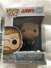 JAWS Film Chief Brody  Hooper Quint   And Shark POP vinyl Figure sets