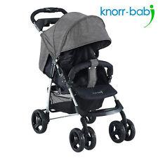 Knorr Baby Buggy Sportwagen V-Easy Fold Melange Grau Neu Baby Kind Kinder