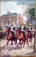 1912 Raphael Tuck, Harry Payne/Artist-Signed Postcard: Military in London - 6