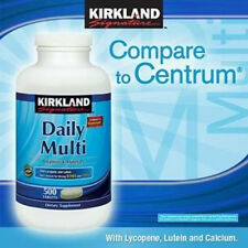 Kirkland Signature Daily MultiVitamin 500 Tablets