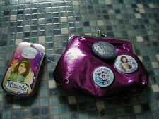 More details for disney store wizards of waverly place pink metallic purse brand new very rare