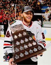 "2013 Stanley Cup PATRICK KANE ""Conn Smythe MVP"" Chicago Blackhawks 8x10 photo"