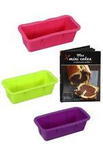 Caja '' Mes mini Tortas '' Libro 14 recetas + 3 Moldes de silicona Tartas