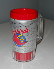 Louisville Redbirds Baseball Team Mug / Cup NEW With Autographs Stamped On