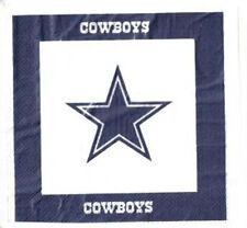 NFL 48 Team Napkins, Dallas Cowboys, NEW