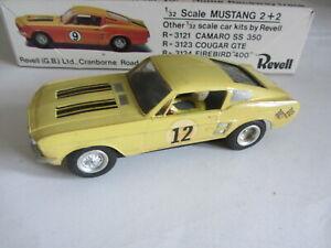 1/32 Revell Mustang Slot car kit.