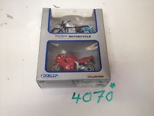 TRIUMPH WELLY BONNEVILLE SPRINT ST MODELS STILL IN BOX I.18 COLLECTABLE NO/4070*