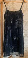 Flapper dress. Gatsby. Warehouse Dress. Spotlight. Size 12. Beaded.