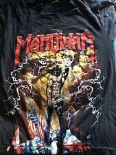 More details for rare manowar shirt m iron maiden nwobhm wasp heavy metal