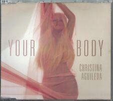 CHRISTINA AGUILERA - YOUR BODY / (PAPERCHA$ER REMIX) 2012 GERMAN CD SINGLE