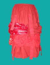 Comme des Garçons new red ribbon skirt size XS