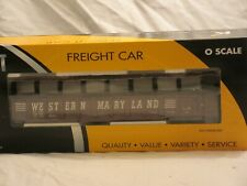 K-Line Western Maryland O Gauge Diecast Coil Carrier Car