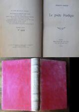 Le poète rustique JAMMES Francis 1920 édition originale .numéroté et relié