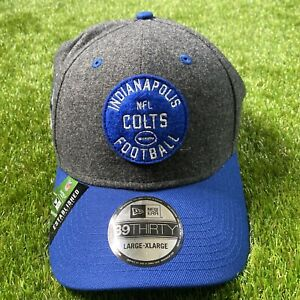 New Era 39Thirty NFL Indianapolis Colts Est. Collection On-Field Cap Size L-XL
