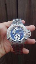 Invicta 6696 Mens Subaqua Noma III Limited Edition 404/500 Watch Blue Lapis Dial