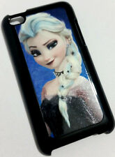 Frozen Elsa Goth Emo Style Black Back Hard Case For iPod Touch 4th Gen