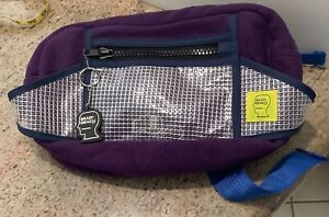 Brain Dead Sherpa Rush Hour Fanny Bag (Purple, Blue) New without Tags