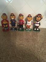 Washington Wild Things Mascot Nodder Bobblehead Minor League Baseball Lot 5 Rare
