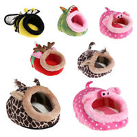 FA- AU_ Hammock for Ferret Rabbit Guinea Pig Rat Hamster Squirrel Mice Bed Toy H