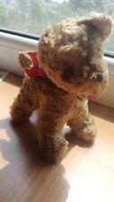 VINTAGE DOG PUPPY PLUSH TOY DOLL PLÜSCHTIER HUND HARD STUFFED SPIELZEUG ANIMAL