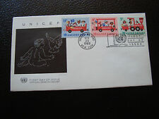 NATIONS-UNIES (new-york) - enveloppe 1er jour 28/11/1966 (cy64) united nations