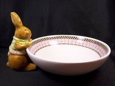 Debbie Mumm hand painted Easter Bunny bowl Spring is in the Air Sakura china