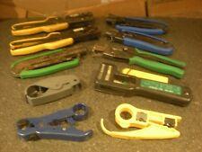 (10)  Coaxial Cable Crimper Compression Tools & MORE Lot #9