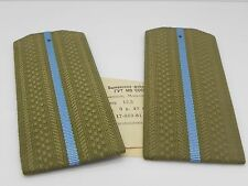 GENUINE USSR SOVIET MILITARY ARMY OFFICER UNIFORM SHOULDER BOARDS