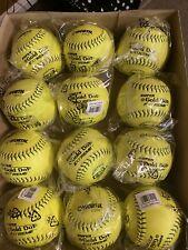Worth Gsl Slow-Pitch Classic Soft Balls - 1 Dozen