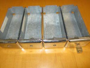 "8"" Coin Box - Money Box  - ESD #71630/XD 8""/Greenwald Equivalent 8"" [USED] 4 Box"