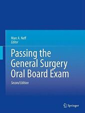Passing the General Surgery Oral Board Exam. Neff, A. 9781461476627 New.#