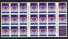 Scott # 3123..32 Cent...Swans...Unfolded Booklet Pane of 20