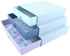 Set of 3 Stacking Jewellery Boxes