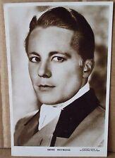 Old Real Photo - Film Star Postcard - Gene Raymond
