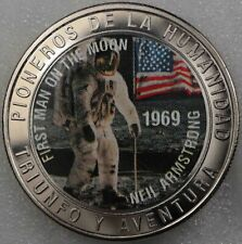 Western Sahara 1000 Pesetas 1997 (1st Man on the Moon) CuNi  [1953