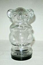 Vintage San Diego Zoo Glass Koala Bear Jar, Free Shipping