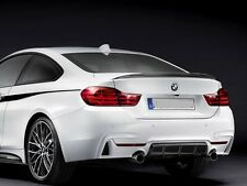 1 BMW F32 Trunk Deck Lip Spoiler P Type 428i 2014+ #300 #354 #475