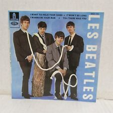 """LES BEATLES I Want To Hold Your Hand + 3 7"""" VINYL Import FRANCE"""