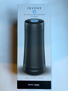 Harman Kardon Invoke Bluetooth Voice-activated Speaker With Cortana Graphite