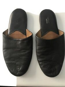 pantofole uomo pelle Usate - Slippers Learher Used