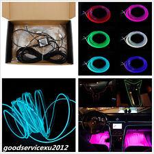 DC12V 6M RGB LED Car Neon EL Strip Light Tube Sound Active Bluetooth APP Control