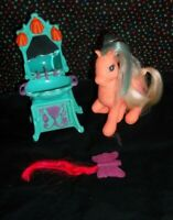 My Little Pony Magic Motion Ponies TIPSY TULIP Peach Jewel Eyes G2 MLP guc