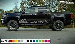 Side Mud stripe Splash for Chevrolet Colorado ZR2  Z-71 LTZ Z71 LT WT EcoTec Cab