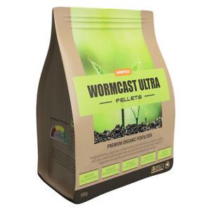 High Performance Organic Worm Fertiliser - WORMCAST ULTRA Pellets – 500g