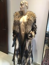 PELLICCIA CAPPOTTO DONNA 42 Lunga  Murmasky Long Real FUR COAT Women