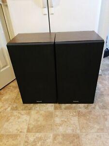 RARE Vintage Technics SB-X700 Speakers, Honeycomb Disc Drivers Tested