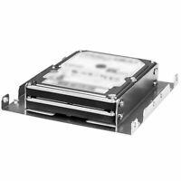 """Athena Power BRK-HD322 3.5"""" inch to 2x 2.5"""" inch Hard Drive Bracket"""