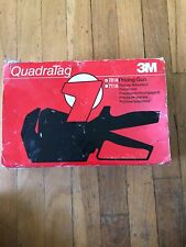 3M QuadraTag 701A Pricing Gun 10 digit 3 line Free Shipping