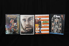 Family DVD Lot of 4 Movies Juno Cast Away Clue Adventures in Babysitting